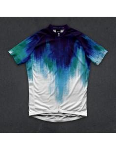 "Twin Six Men's cycling jersey ""The Aurora"""