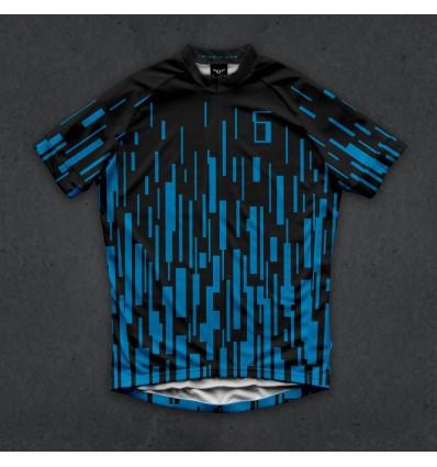 """Twin Six heren shirt """"The Dash (blue)"""""""