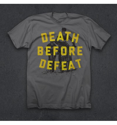 """Twin Six T-Shirt """"Death Before Defeat"""""""