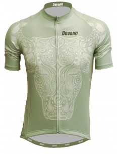 "Davanti bikewear Cycling jersey ""Toro"" Gray/Green"