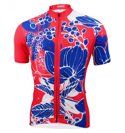 "Davanti bikewear Cycling jersey ""Bruce"" Red"