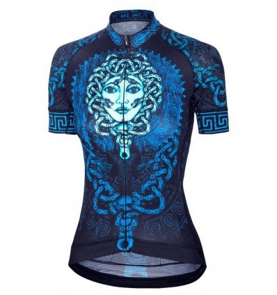 "Cycology Gear women's cycling Jersey ""Medusa"""