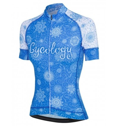 "Cycology Gear women's cycling Jersey ""Tree of Life"""