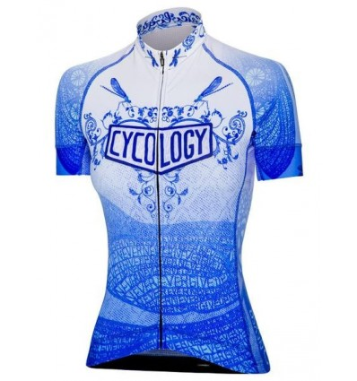 "Cycology Gear women's cycling Jersey ""Dragonfly"""
