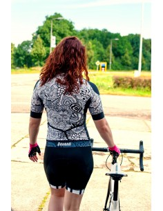 Davanti dames fietskleding Set Penny Shirt & BIB short Jacky