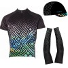 """Set Shirt, Armwarmers and Cap """"Labrynth"""""""