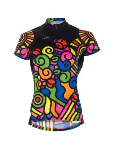 "Primal Wear dames fietsshirt ""Tripper Day"""