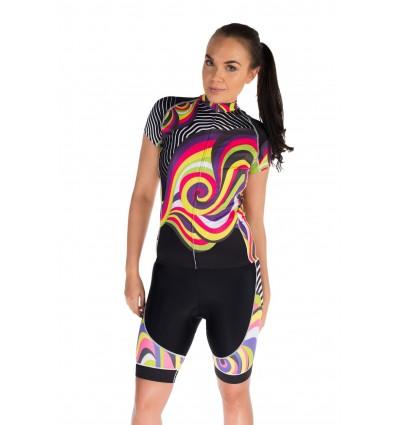 Hurricandy womens cycling set