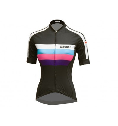 Davanti bikewear Cycling Jersey Liane Black