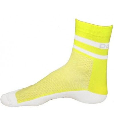 Davanti bikewear Flugo 19cm cycling socks neon pink