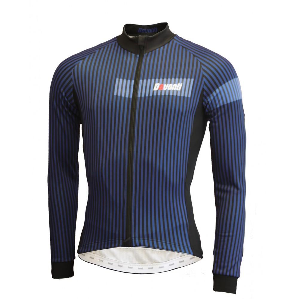 wielerkleding winterset lange broek Nero Shirt met lange