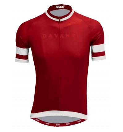 Davanti heren fietsshirt Enzo in Navy en red