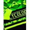 "Cycology Gear Herren Radtrikot ""Geometric Lime"""