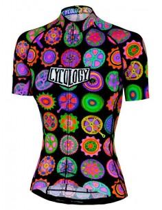 "Cycology Gear women's cycling Jersey ""Cycodelic"""