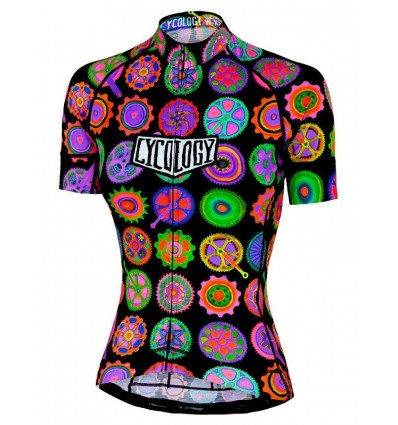 "Cycology Gear women's cycling Jersey ""Cycodelic"""