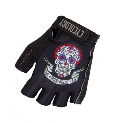 "Cycology Cycling Gloves ""Day of the Living"""