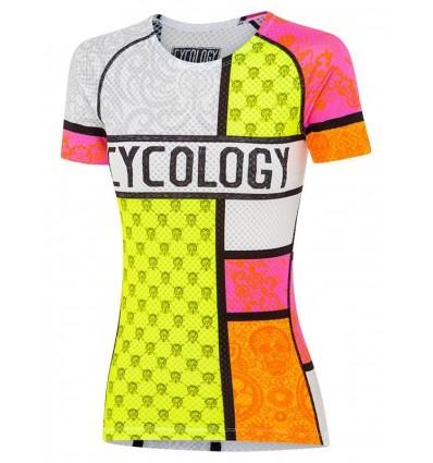 """Cycology Gear women's baselayer """"Mondrian"""""""