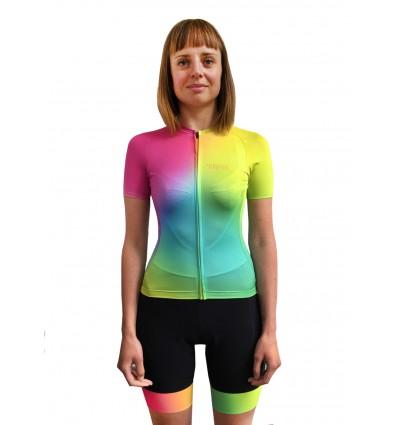 """Trofeo women's cycling Jersey """"Gradient joy"""""""