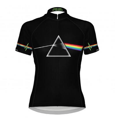 "Primal Womens cycling jersey Pink Floyd ""Dark Side"""