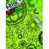 "Cycology Gear Dames Fietsshirt ""Day of the Living"" (Lime)"