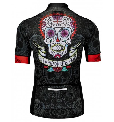 "Cycology Gear men's cycling Jersey ""Day Of the Living"""