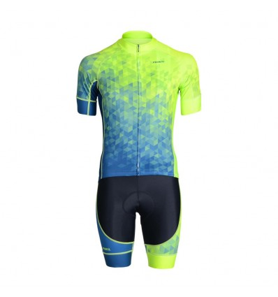 Trimotif mens cycling set with standard Short