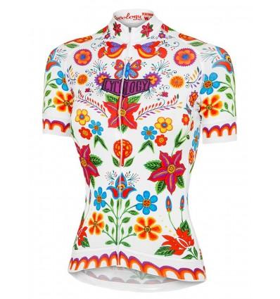 "Cycology Gear Dames Fietsshirt ""Frida"" White"
