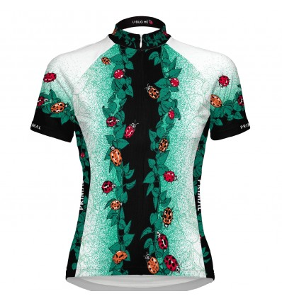 "Primal Wear womens cycling jersey ""Bug me"""