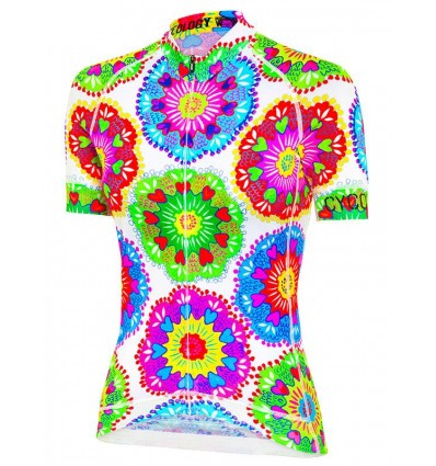 "Cycology Gear women's cycling Jersey ""Spin Sista"""