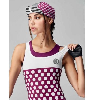 """Dotout womens cycling top """"Dots"""""""
