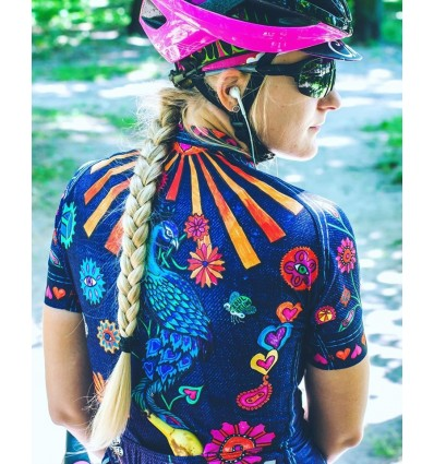 "Cycology Gear women's cycling Jersey ""Boho"""
