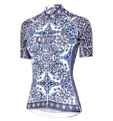 "Cycology women's cycling Jersey ""Majolica"""