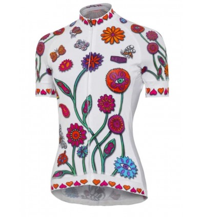 "Cycology women's cycling Jersey ""Boho White"""