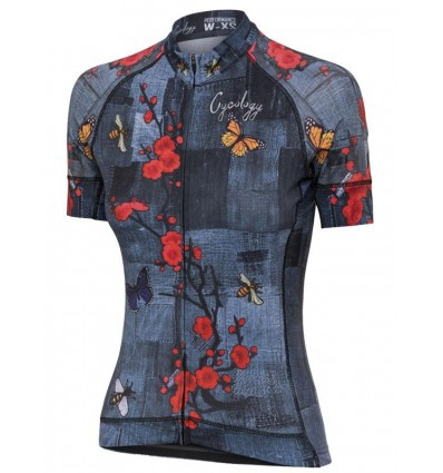 """Cycology Gear women's cycling Jersey """"L'Amour"""""""