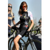 """8ight and Counting Womens Cycling Jersey """"8ight"""" Tropical Jungle"""