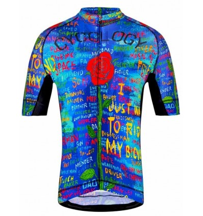 """Cycology Men's Cycling Jersey """"See Me"""""""