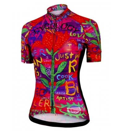 "Cycology women's cycling Jersey ""See Me"""