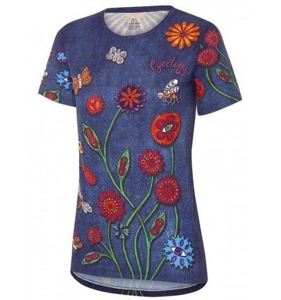 "Cycology Women's Technical T-Shirt ""Boho"""