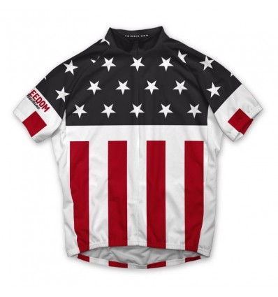 "Twin Six Men's cycling jersey ""The Martyr"""