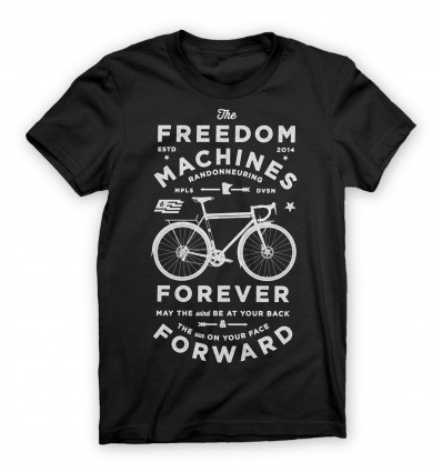 Twin Six Men's T-Shirt Freedom Machines