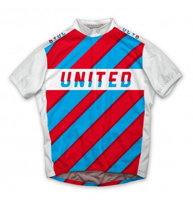 "Twin Six Men's cycling jersey ""the united crushers"""